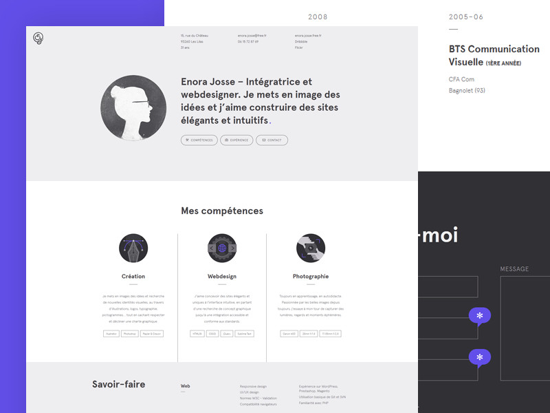 19 Creative Resume Websites for Your Inspiration - Resume Websites Examples