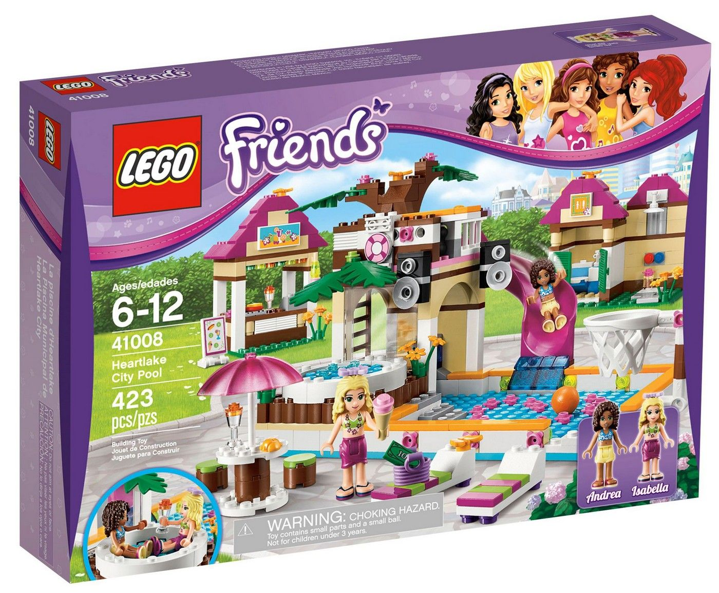 Lego Friends Piscina Lego 41008 Friends Heartlake City Pool I Brick City