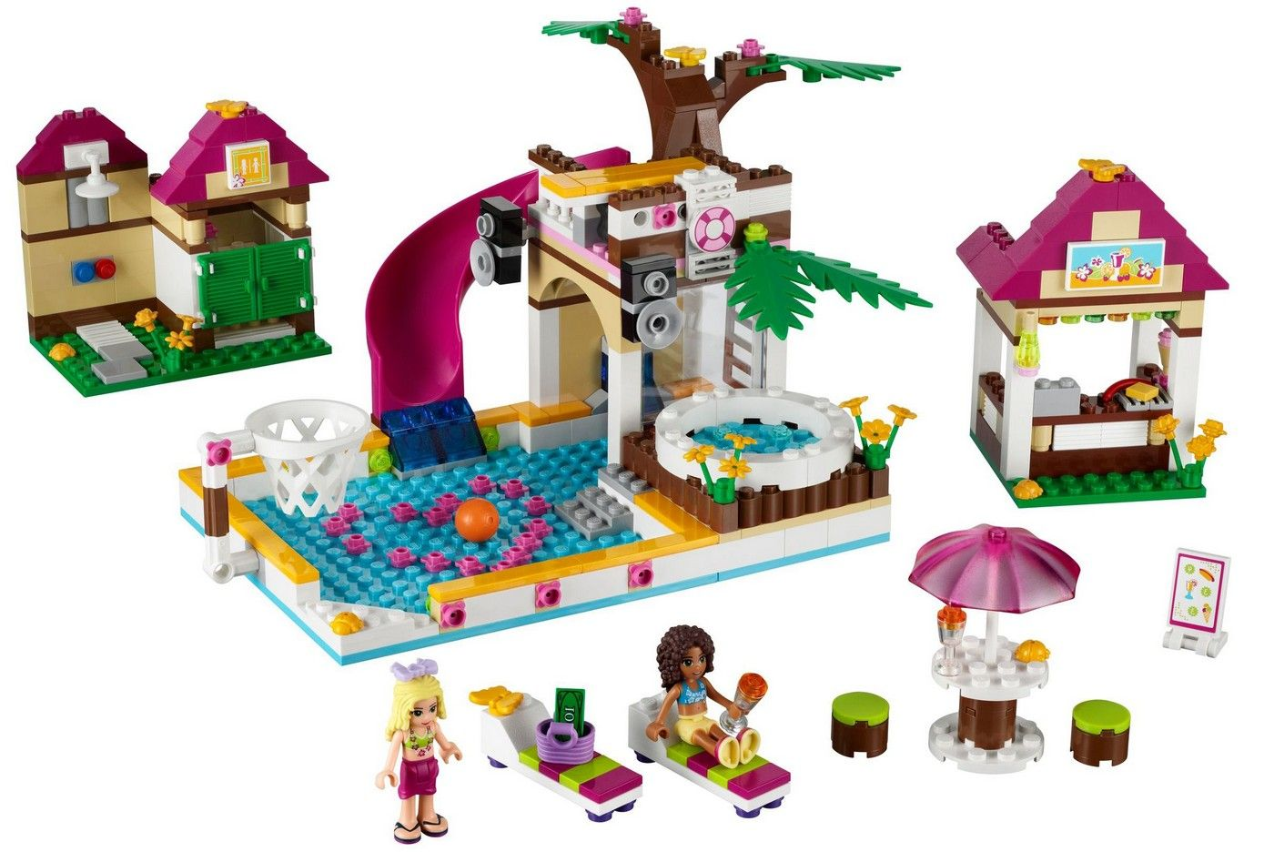 Lego Friends La Piscina Lego 41008 Friends Heartlake City Pool I Brick City