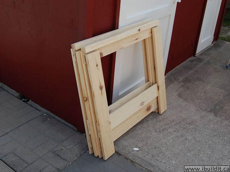 How To Make A Folding Saw Horse Ibuilditca