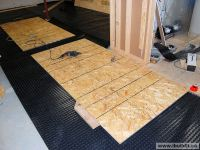 Drain Tie-In And Basement Subfloor - My Old House ...