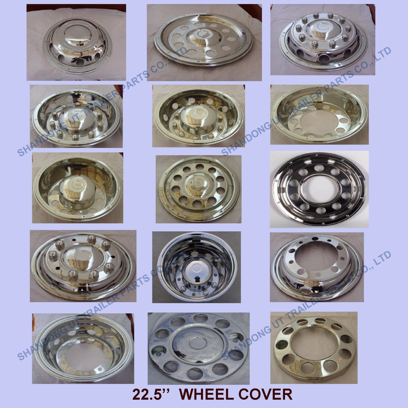 Factory Manufacturer Parts Polishing Wheel Cover In 22 5 Inch 10 Holes Factory Manufacturer Ibuyautoparts