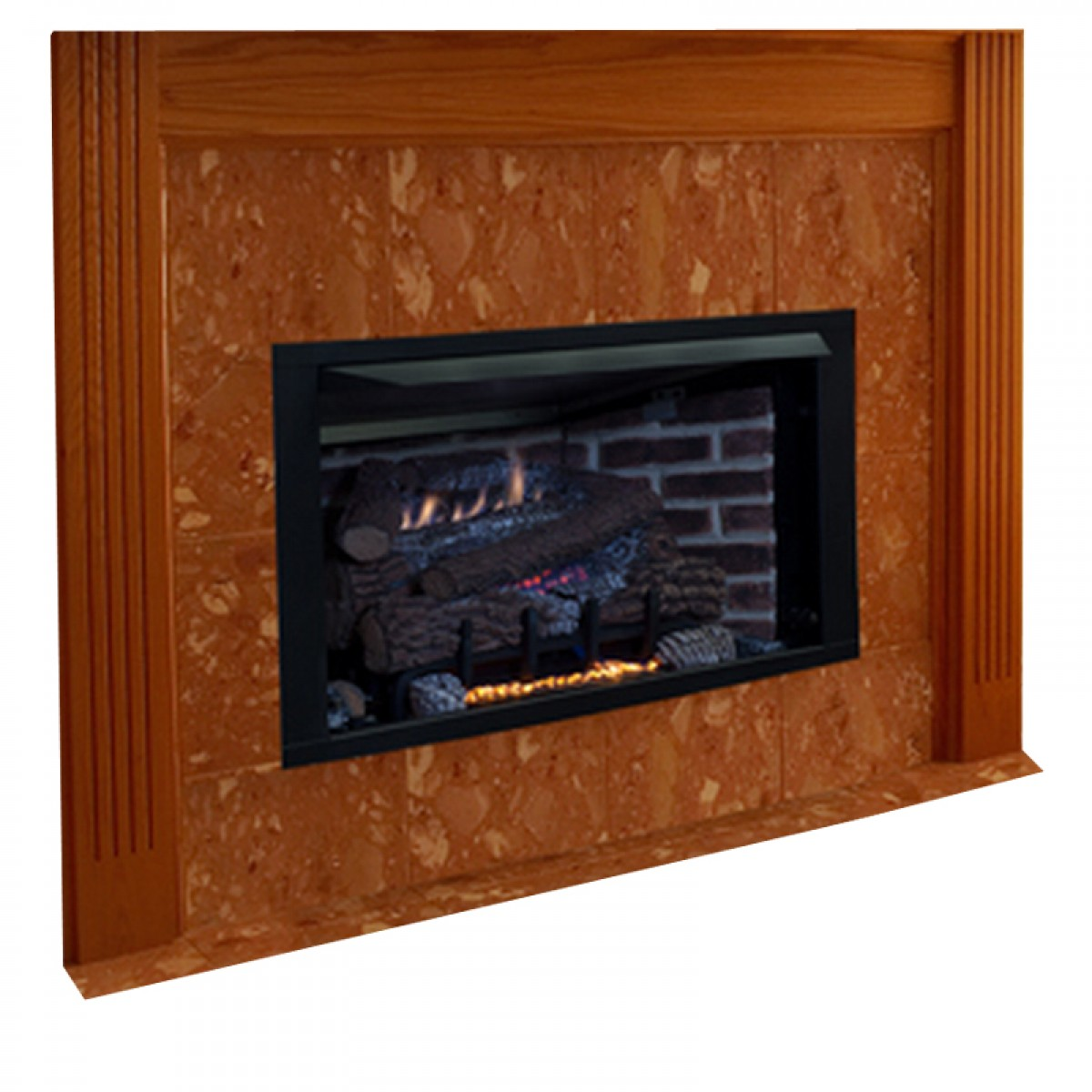 Ceramic Logs For Gas Fireplace Ihp Superior Vrt Vct4000z Vent Free Gas Fireplace
