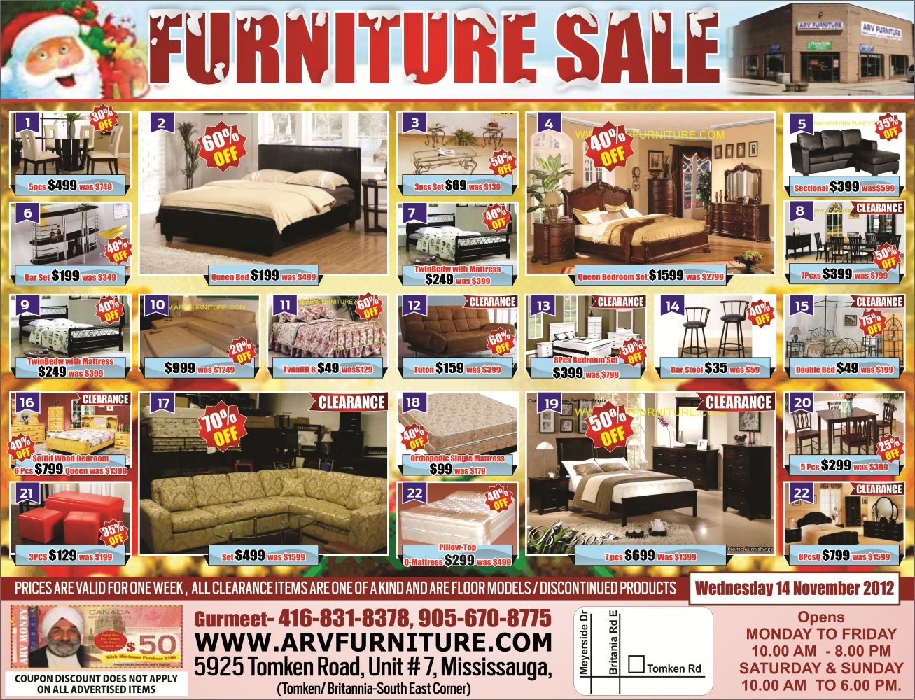 Best Cheap Furniture Stores Toronto Arv Furniture Mississauga Toronto Weekly Flyer Early