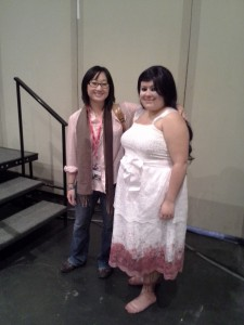 me and Anna at Comic Con