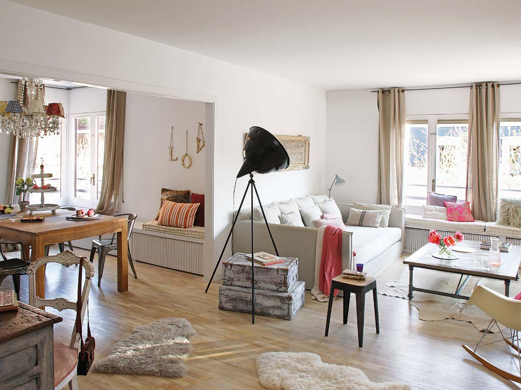 Couchtisch Square Decordemon: Charming Vintage Apartment In Barcelona