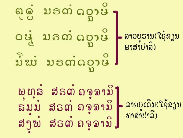 Re Pali in Thai Script from Theppitak Karoonboonyanan on 2014-03-27 - thai alphabet chart
