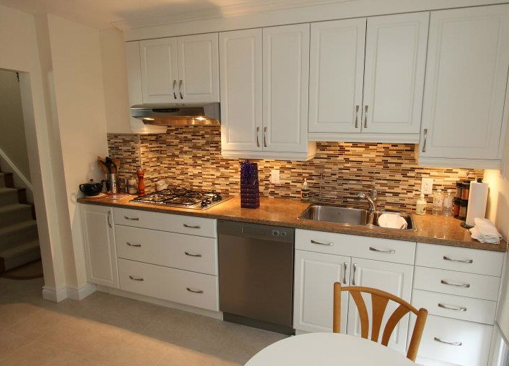 backsplash white kitchen cabinets decor ideasdecor ideas love pattern copper backsplash photo