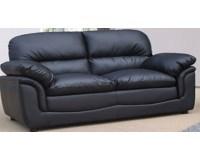 Black Leather 2 Seater Sofa - Decor IdeasDecor Ideas