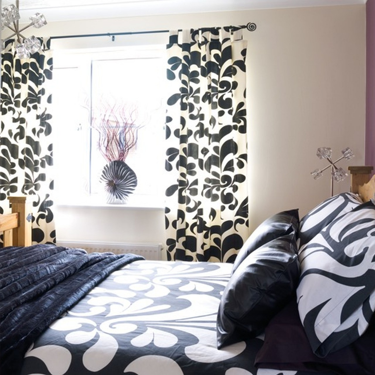 Black And White Bedroom Curtains Ideas Black And White Bedroom Curtains Decor Ideasdecor Ideas
