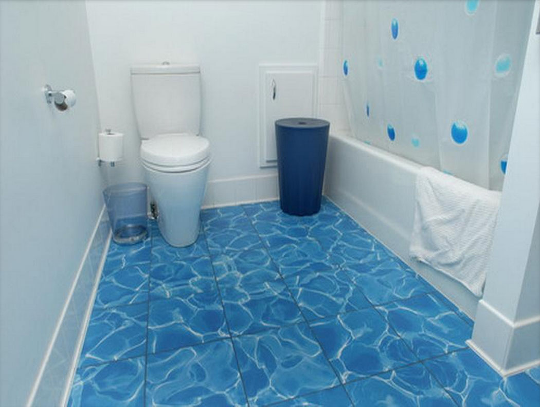 Floor Tiles Design For Small House Blue Bathroom Floor Tiles Decor Ideasdecor Ideas