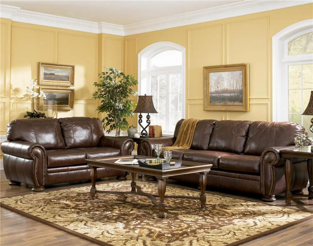 Wall Colors For Brown Leather Furniture Living Room Colors With Brown Furniture Decor Ideasdecor