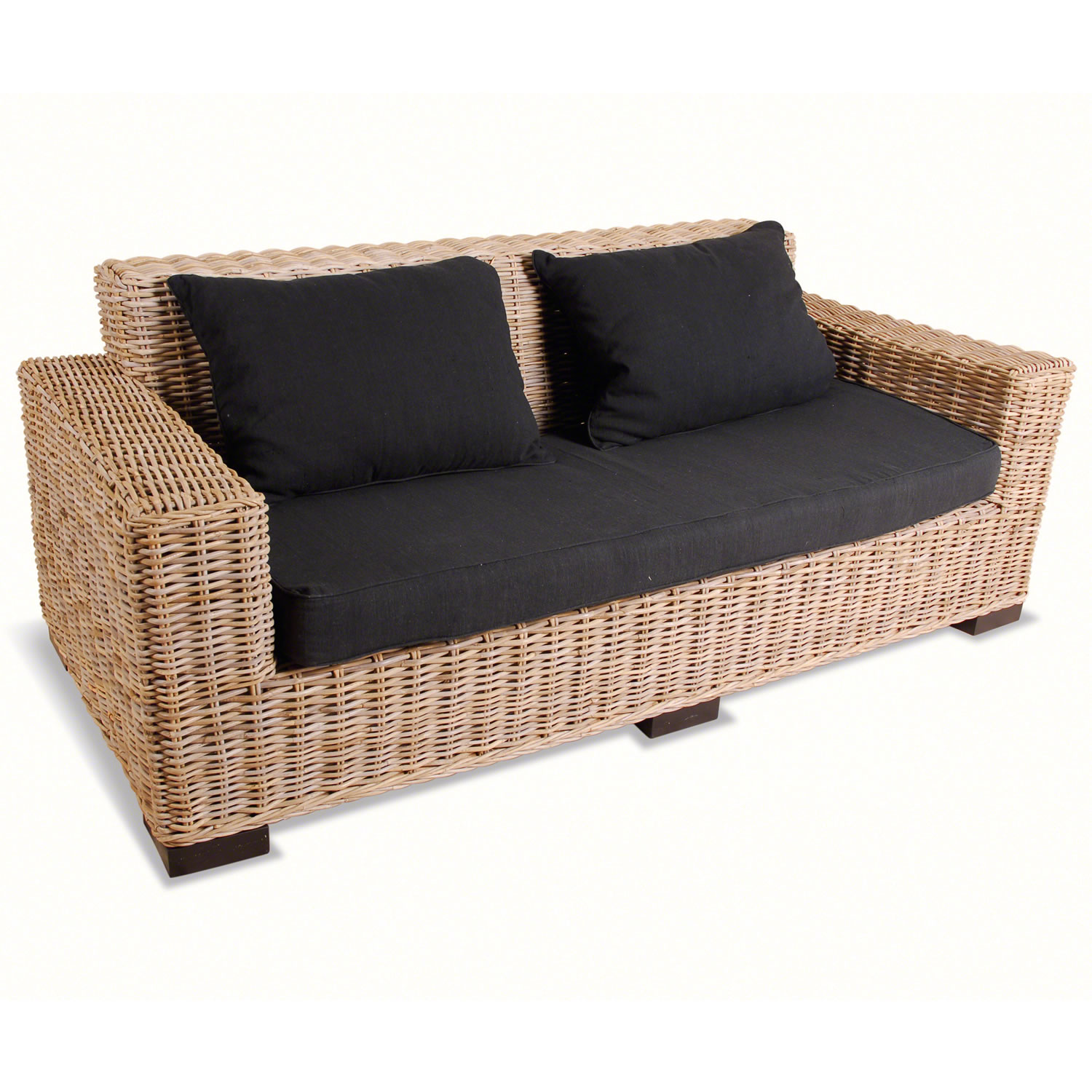 2 Seater Rattan Sofa Cushions Rattan 2 Seater Sofa Decor Ideasdecor Ideas
