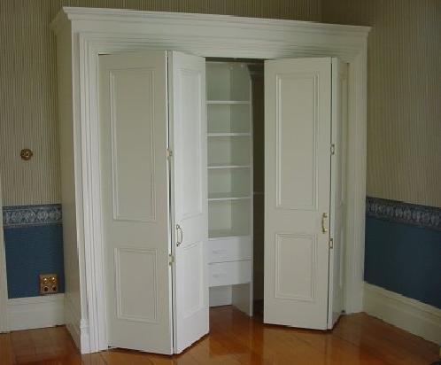 Bi fold closet doors ideas