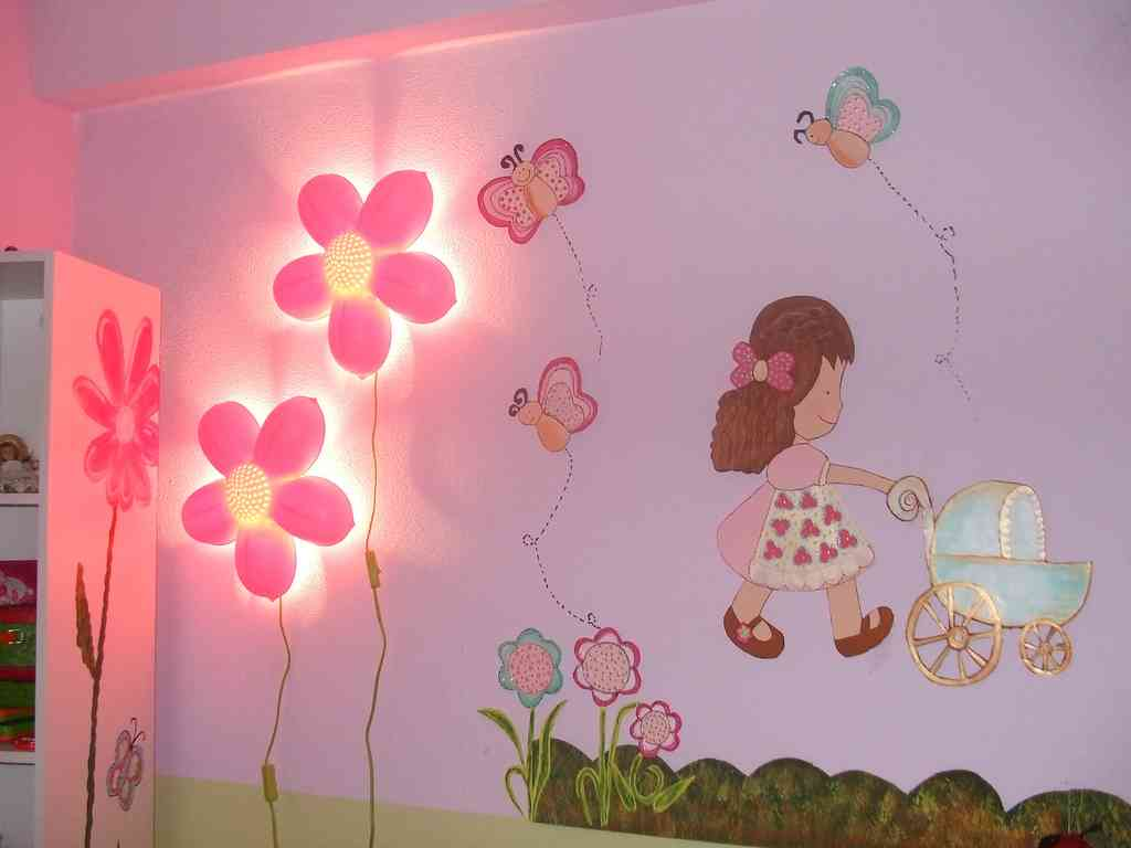 Kids Room Wall Lamp Girls Bedroom Wall Decor Decor Ideasdecor Ideas