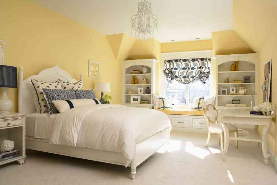 Light Yellow Bedroom Ideas