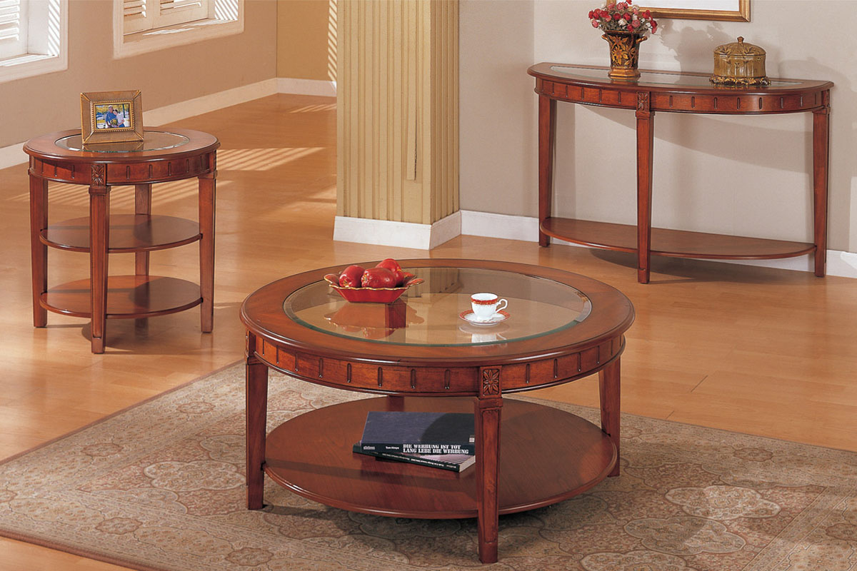 Round Coffee Table And End Tables Round Coffee And End Tables Decor Ideasdecor Ideas