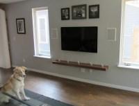 shelves for wall mounted tv - Decor IdeasDecor Ideas