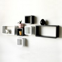 Decorative Wall Shelves  Easy to Install and Removable ...