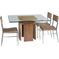 Glass Top Dining Table Set 4 Chairs - Decor IdeasDecor Ideas