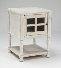 Distressed White End Tables - Decor IdeasDecor Ideas