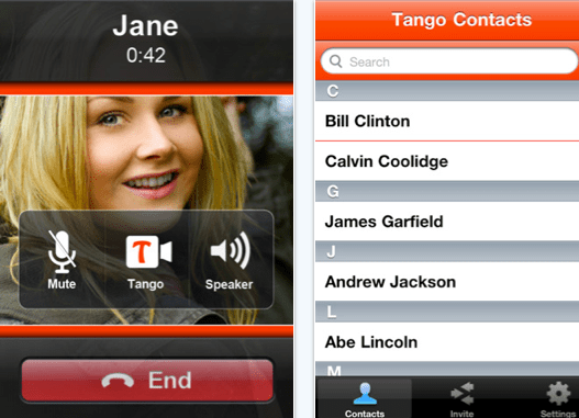 Tango Video Call