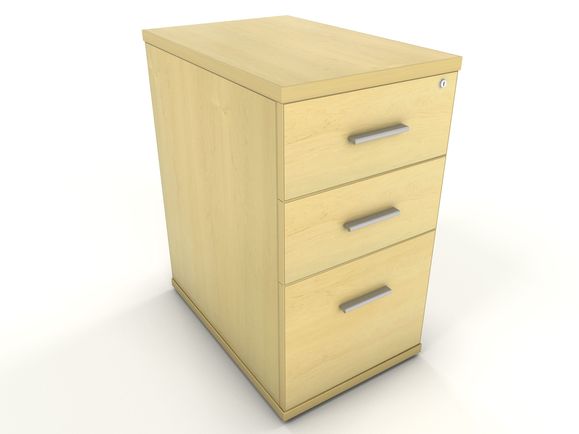 Desk Drawer Unit Maple Office Furniture | Icarus Office Furniture