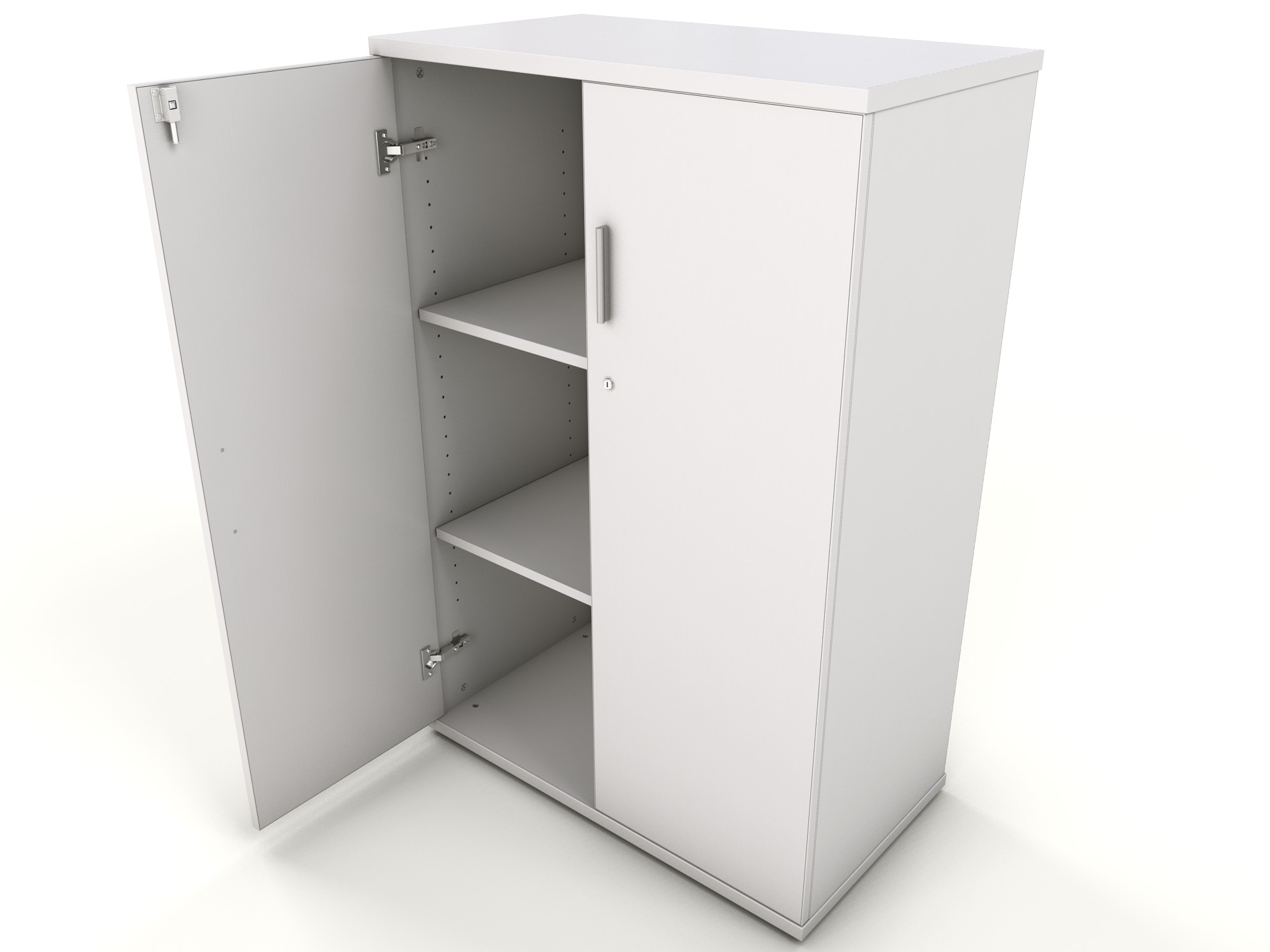White Cupboard White Office Storage Cupboard Icarus Office Furniture