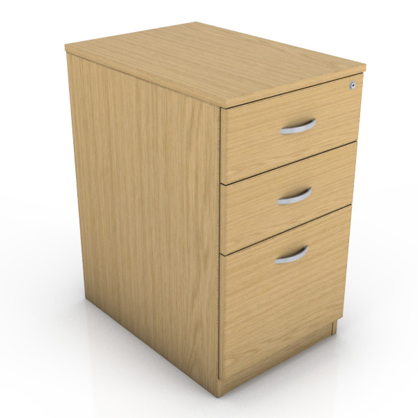 Desk Drawer Unit White Desk High Drawer Unit | Icarus Office Furniture