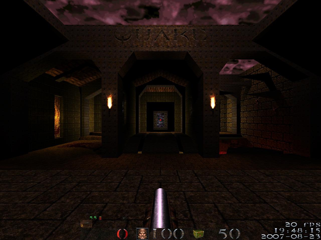 Dark Wallpaper 3d Lordhavoc S Darkplaces Quake Modification