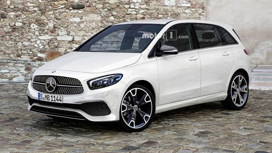 2019 Mercedes B Class Imagined As Sophisticated Minivan