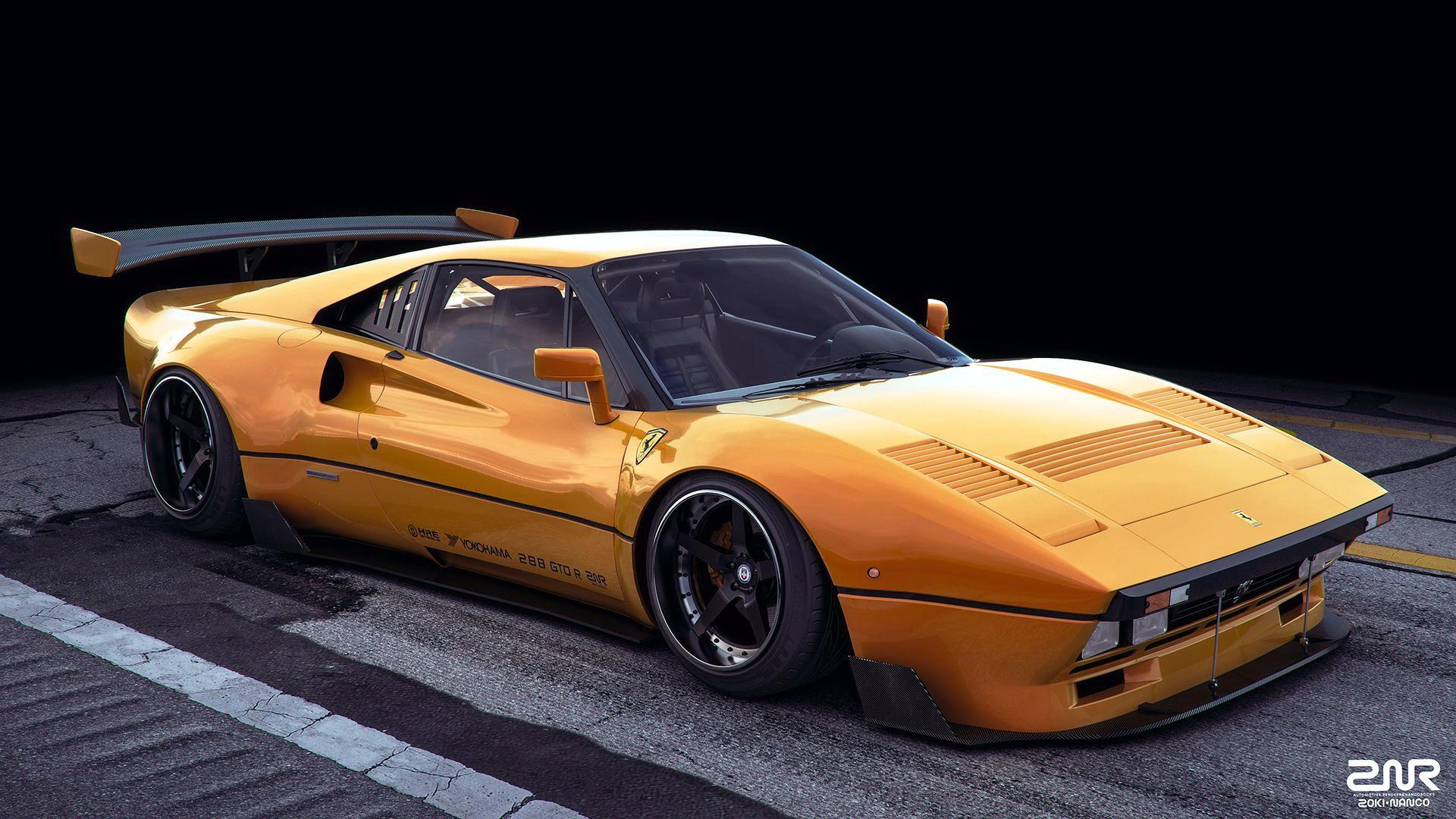 Audi Concept Car Wallpaper Ferrari 288 Gto R Provides A Whole New Perspective