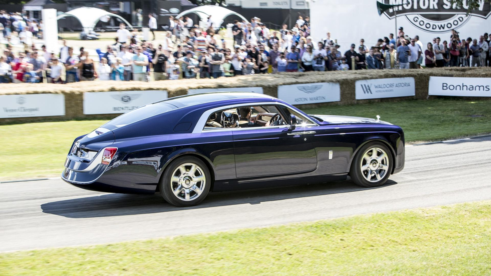 Royal Royce Car Hd Wallpaper Rolls Royce Sweptail Was In No Hurry At Goodwood Fos