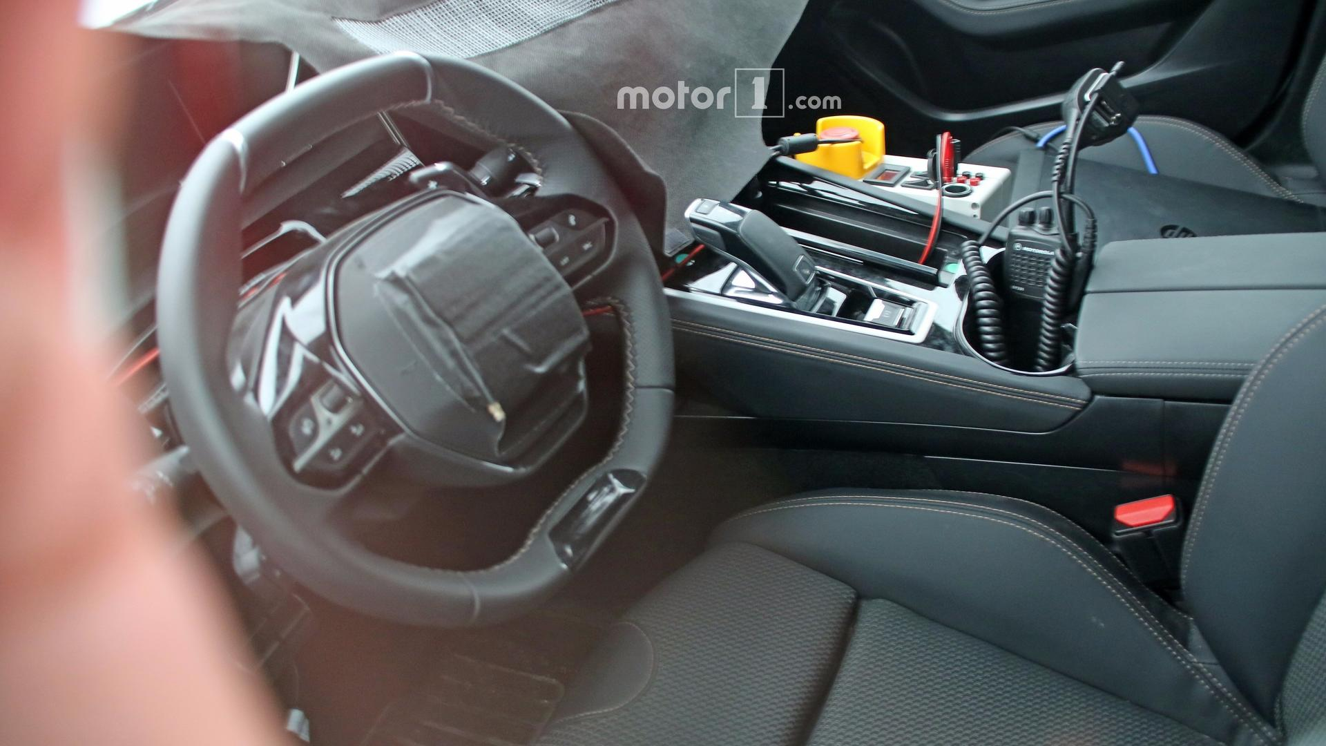 Nya Interieur 2018 Peugeot 508 Spied Inside For The First Time