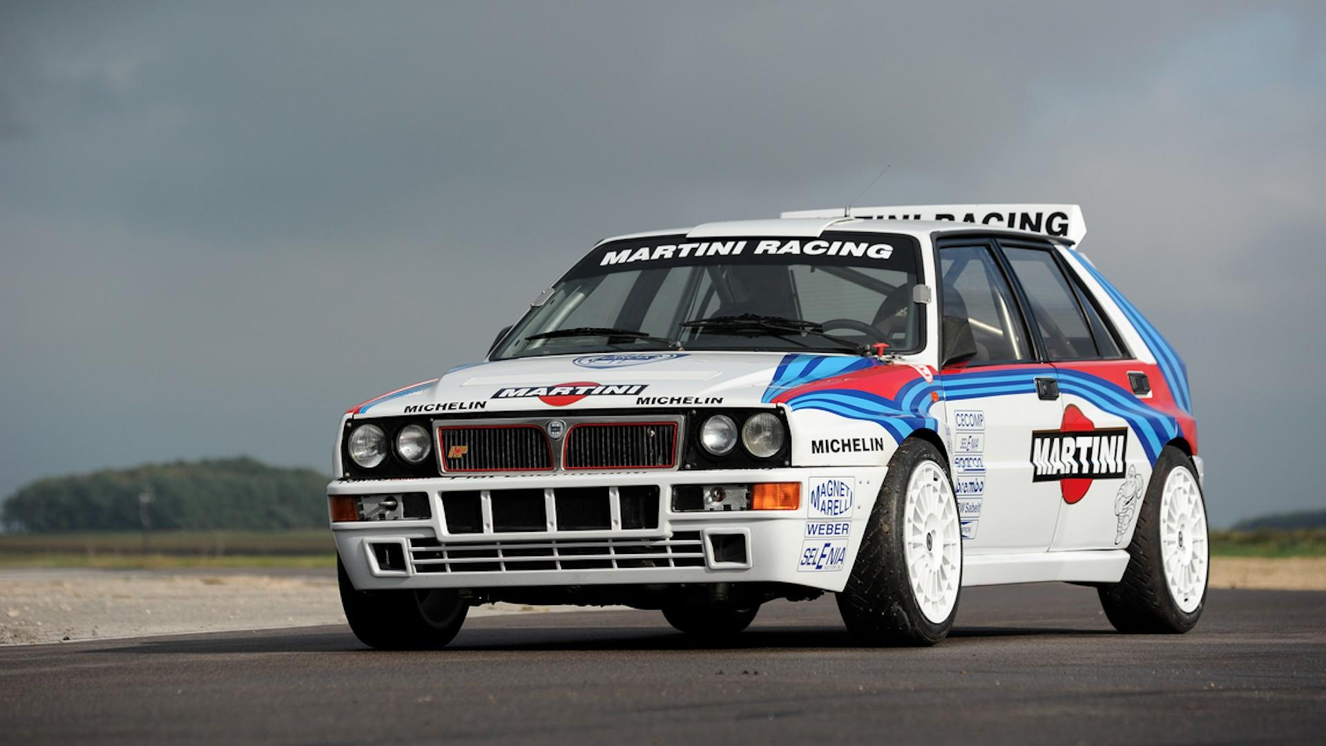Audi Concept Car Wallpaper Rally Driven Lancia Delta Causes Bidding War Sells For 297k
