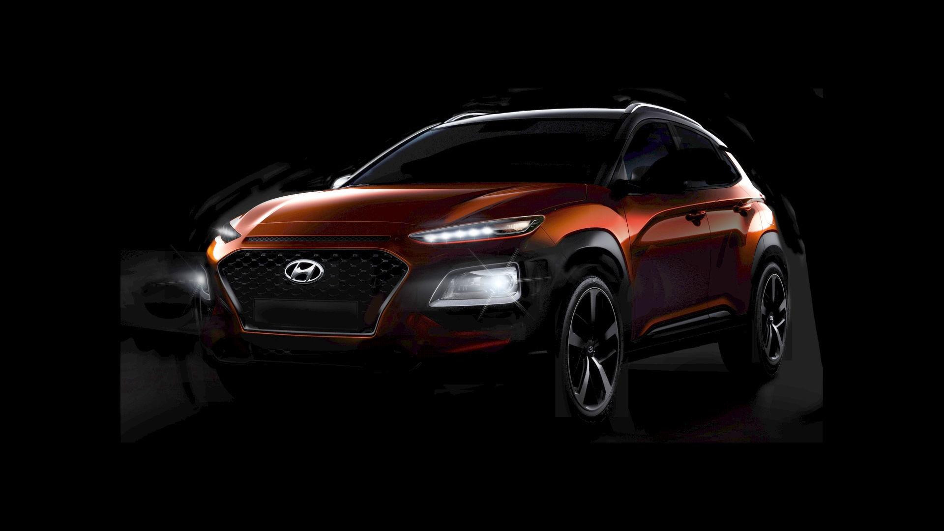 Phantom Car Wallpaper 2018 Hyundai Kona Fully Shows Its Wacky Design