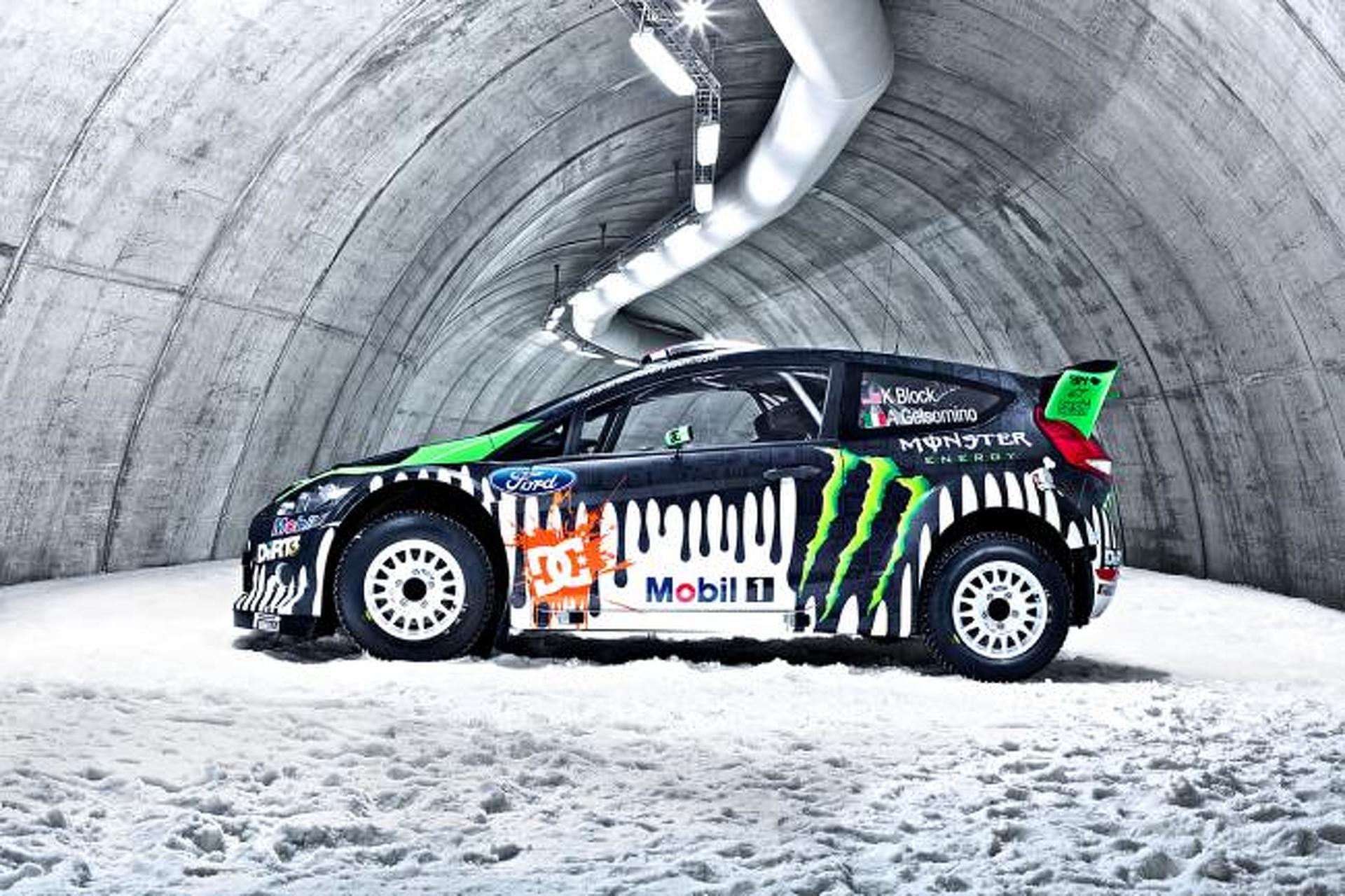 Ken Block Hd Wallpaper Tech Ride Ken Block S Ford Fiesta Rs Rally Car