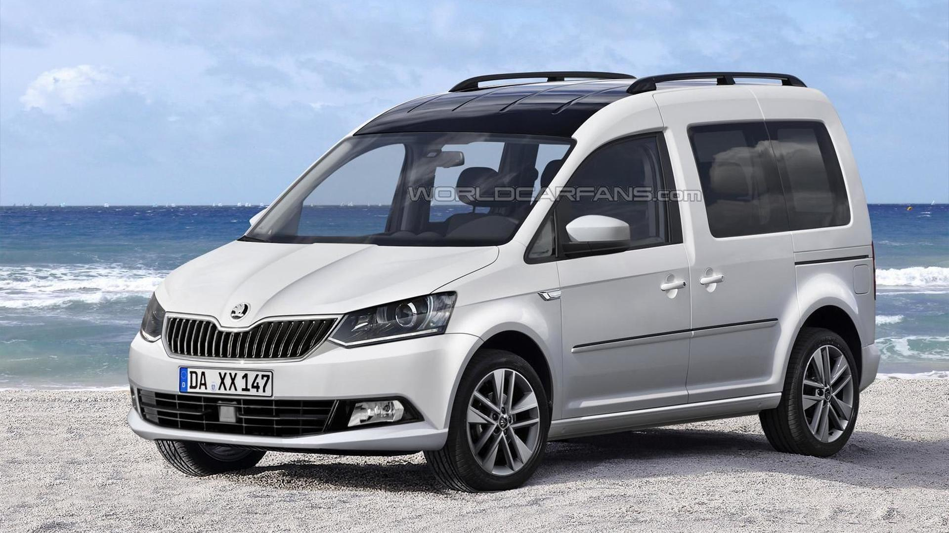 Skoda Roomster Schiebetür New Skoda Roomster Reportedly Delayed Until 2016