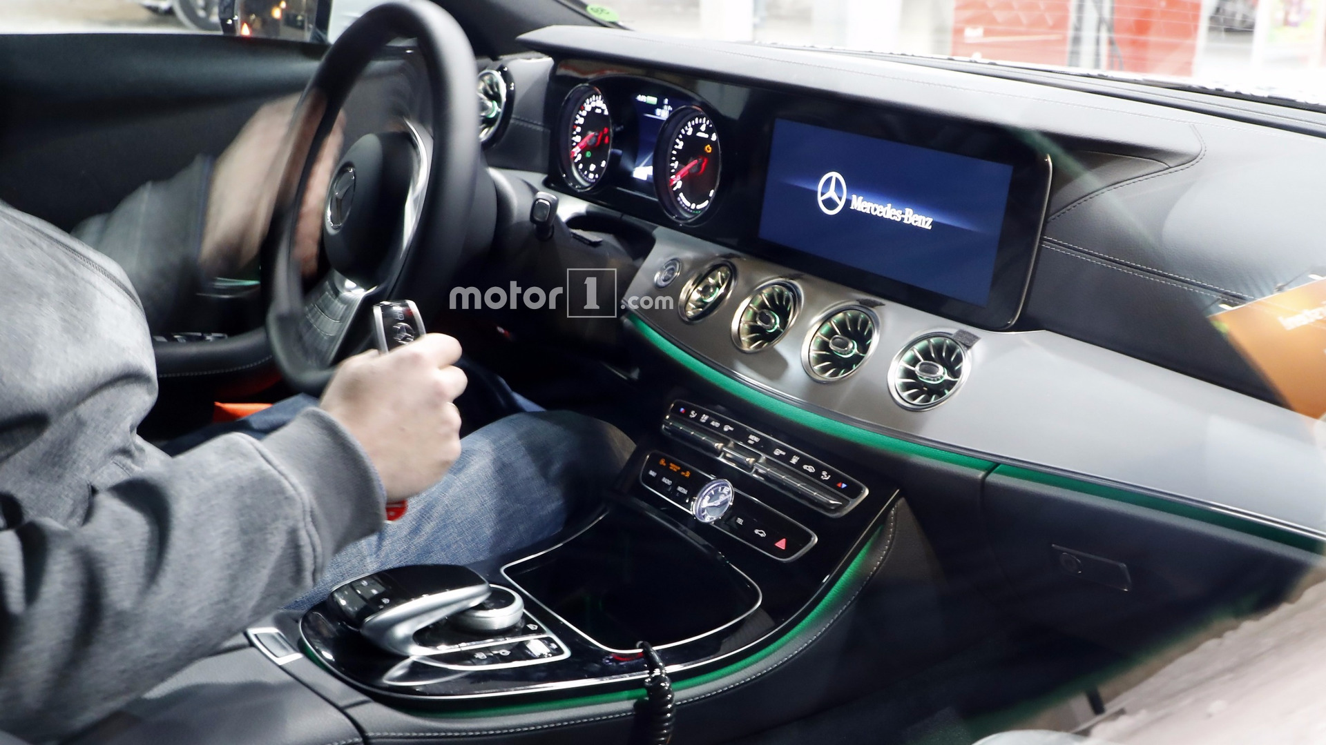 A Class 2018 Interior 2018 Mercedes Cls Spied Inside Showing Its E Class Roots