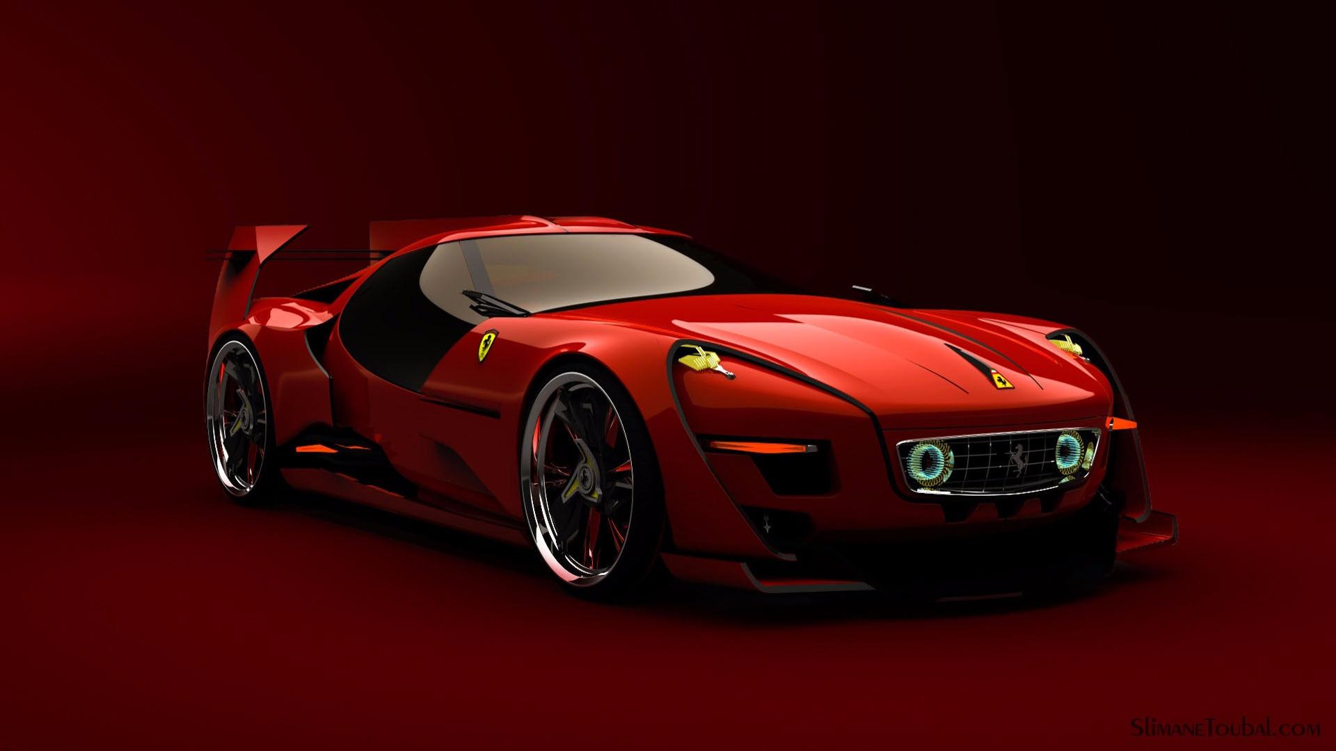 Race Car Wallpaper Images Ferrari 250 Tres Concept Con Dise 241 O Retro Que Lo