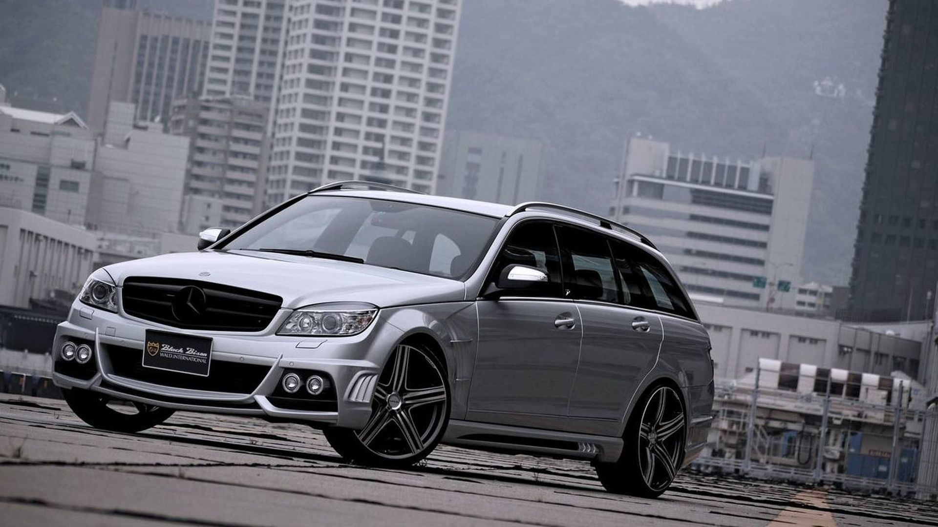 Wald sports line black bison editions for mercedes c class wagon r class