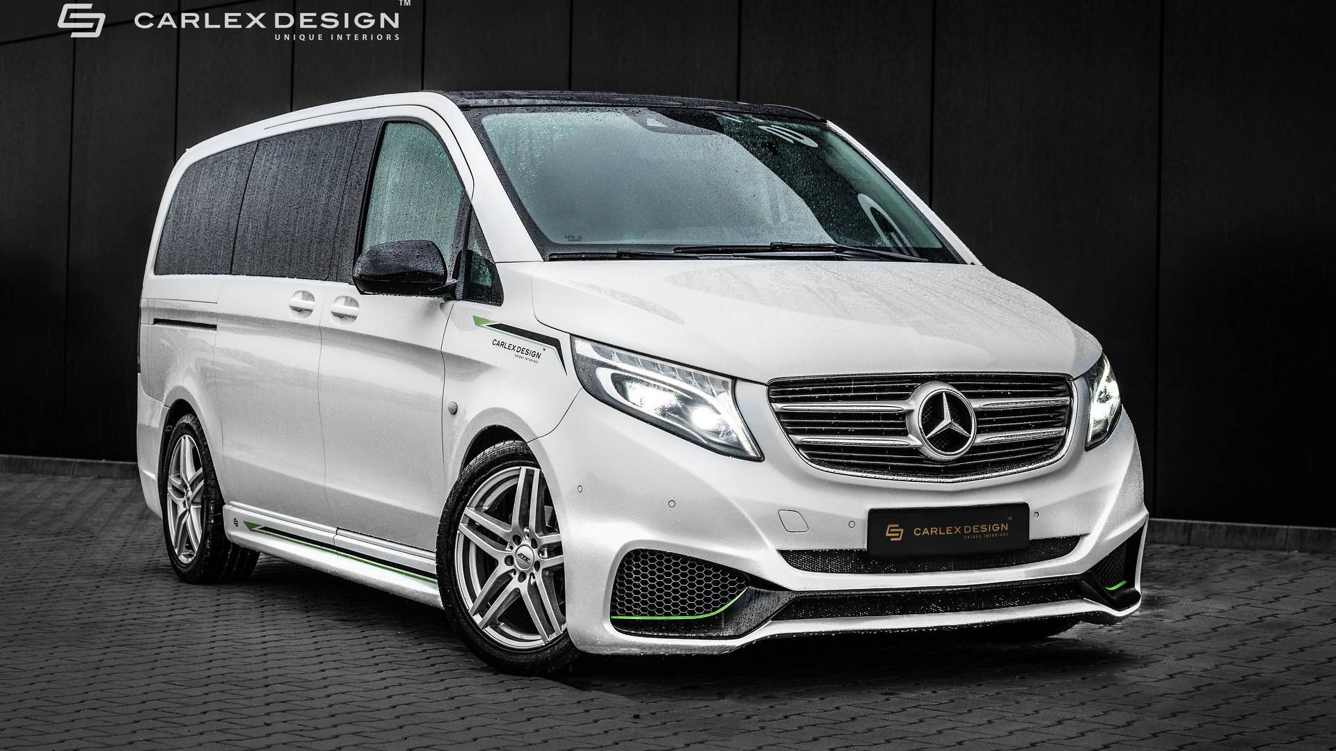 Mercedes Benz Vito Mercedes Vito By Carlex Gets Sporty Exterior Luxurious