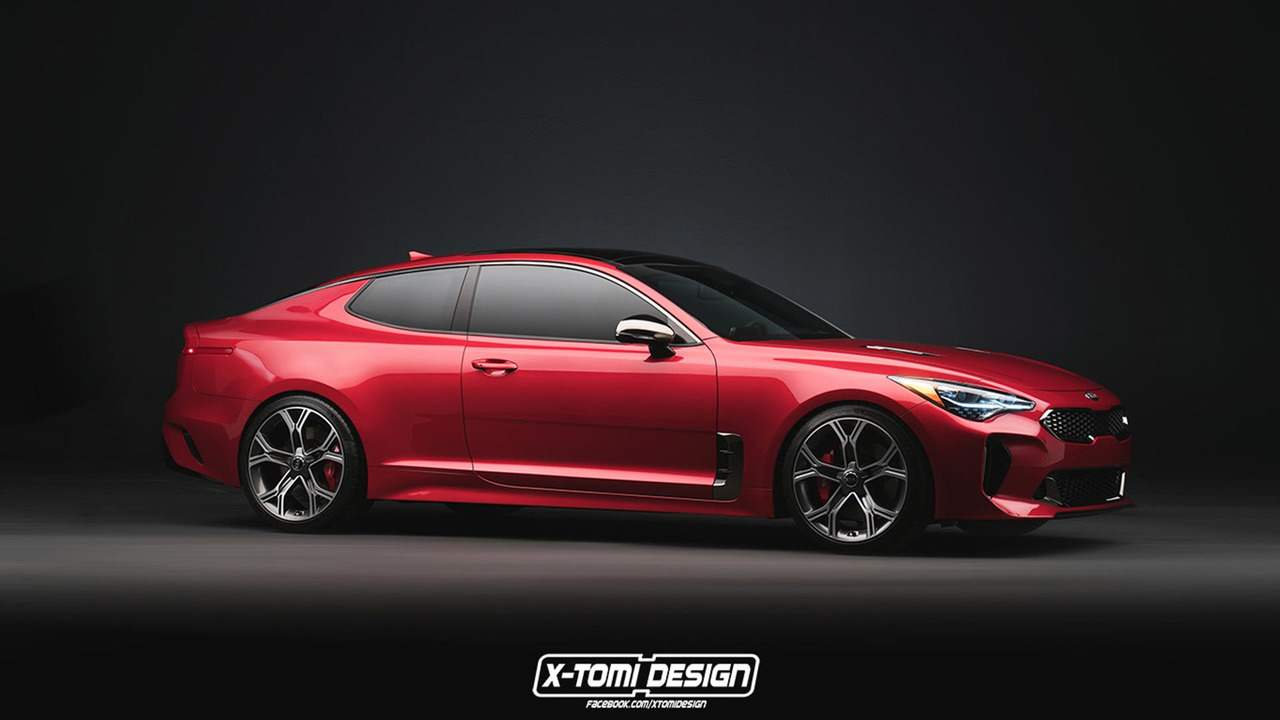 Stylish Car Wallpaper Kia Stinger Gt Coupe Wagon Are Unfortunately Only Renders
