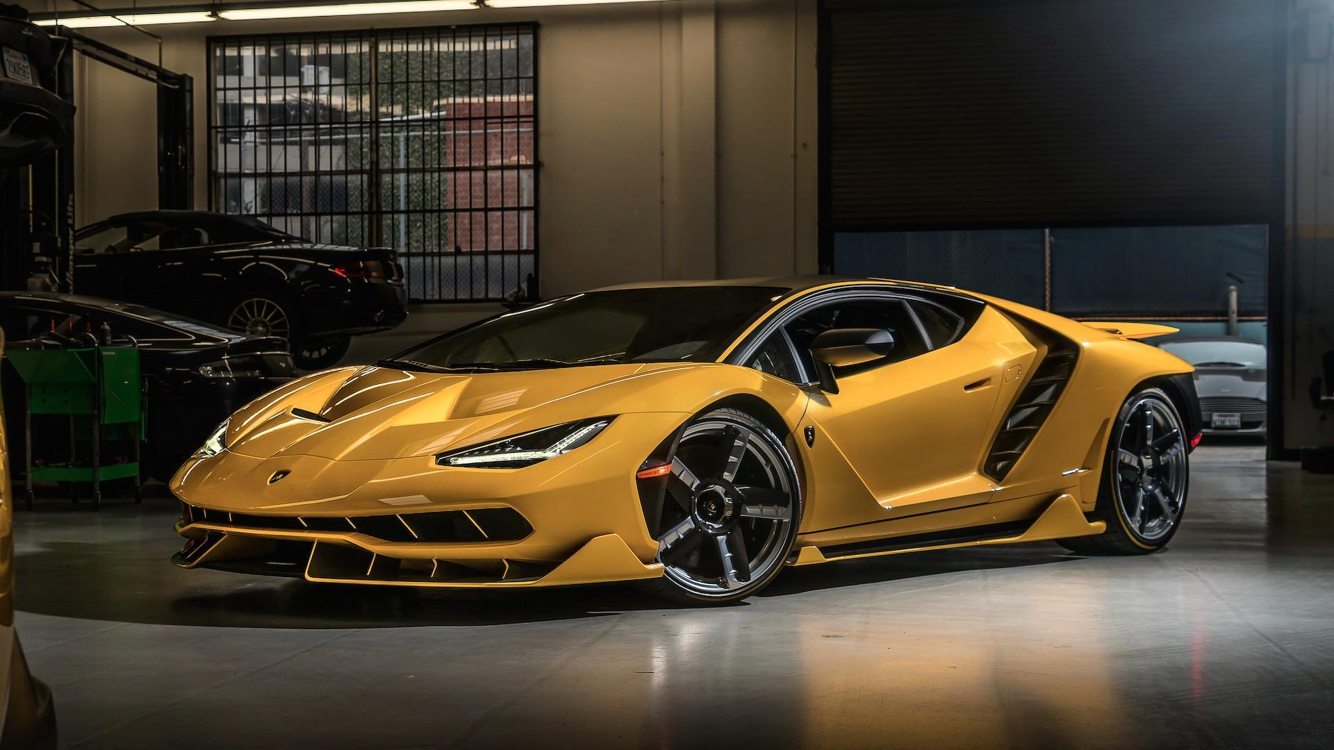 Car Lineup Wallpaper Two New Lamborghini Centenarios Have Landed In The U S