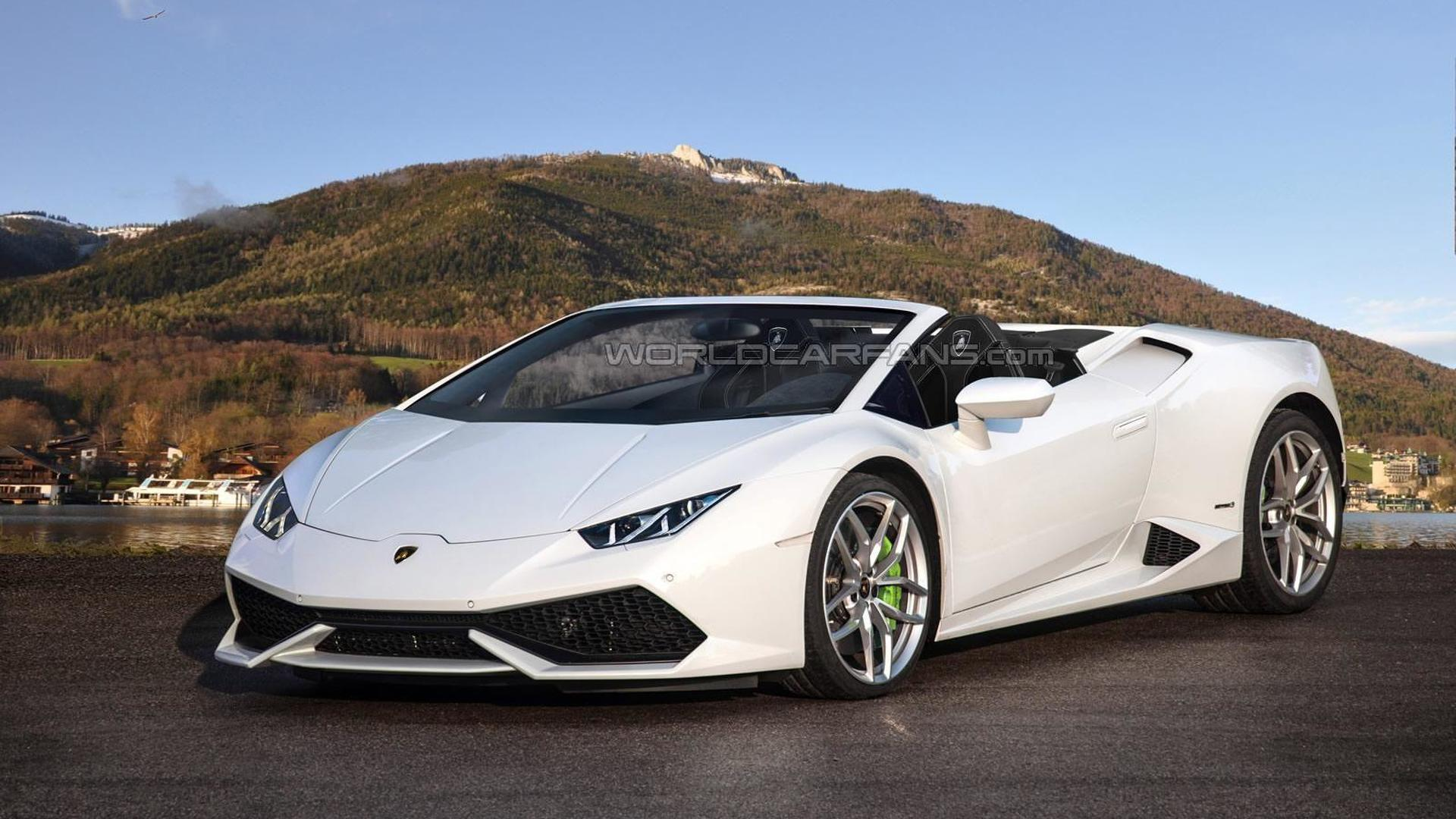 Lamborghini Car Hd Wallpaper For Pc Lamborghini Huracan Spyder Speculatively Rendered
