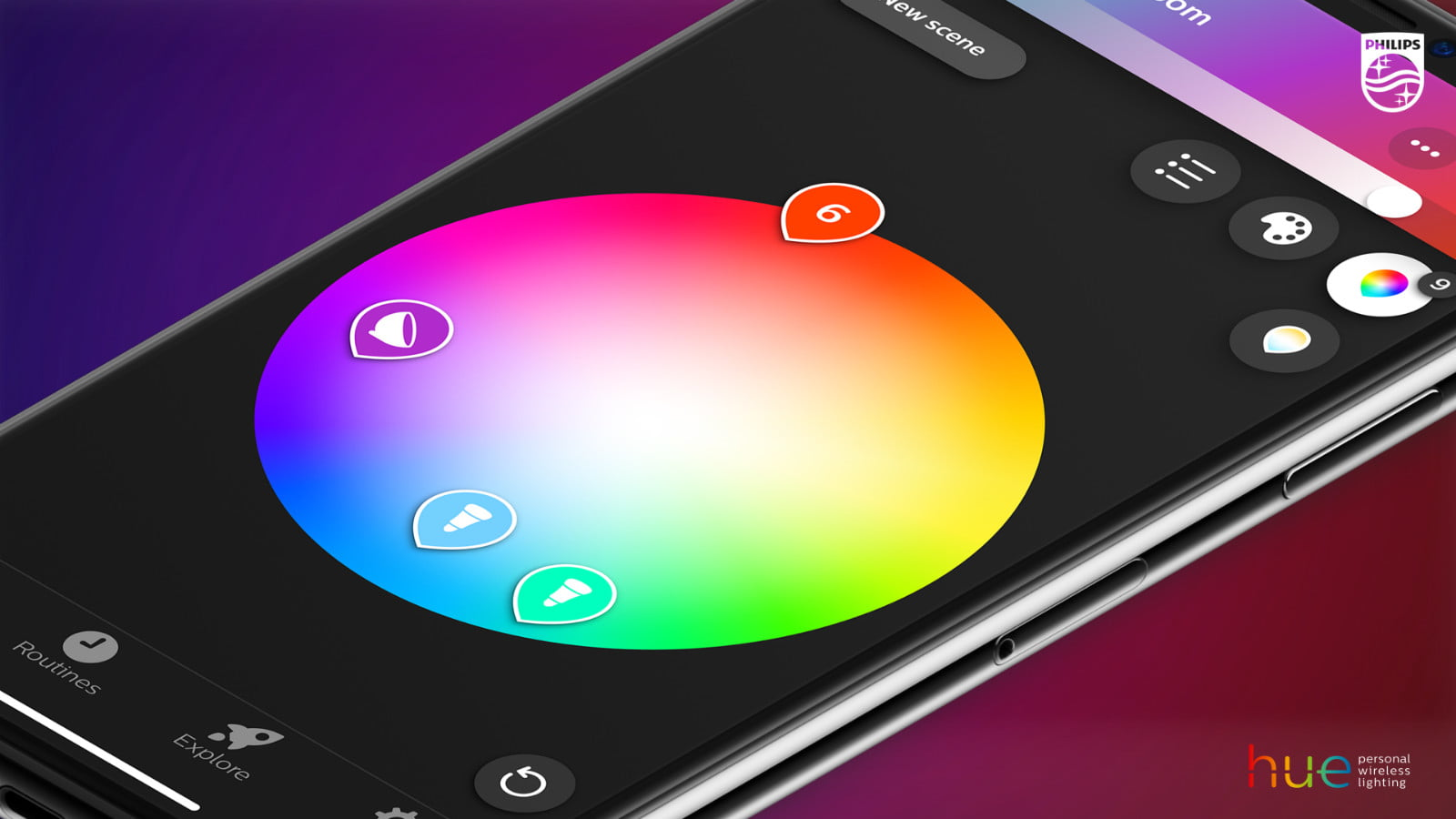 Hue Philips App Philips Hue Smart Home Lighting App Gets Easier With New Features