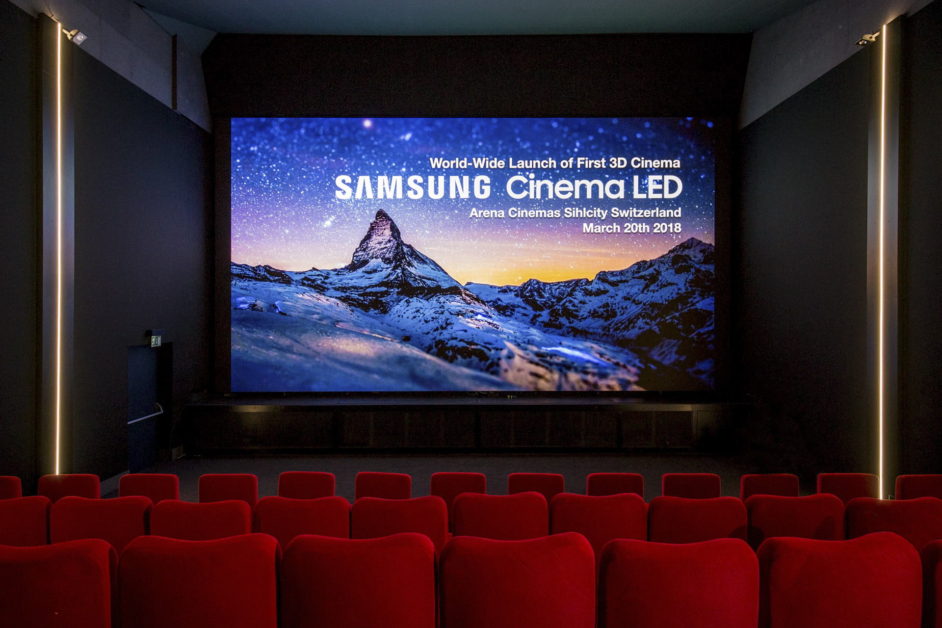 ??led Samsung S 34 Foot Onyx Led Tv Could Change Movie Theaters Forever