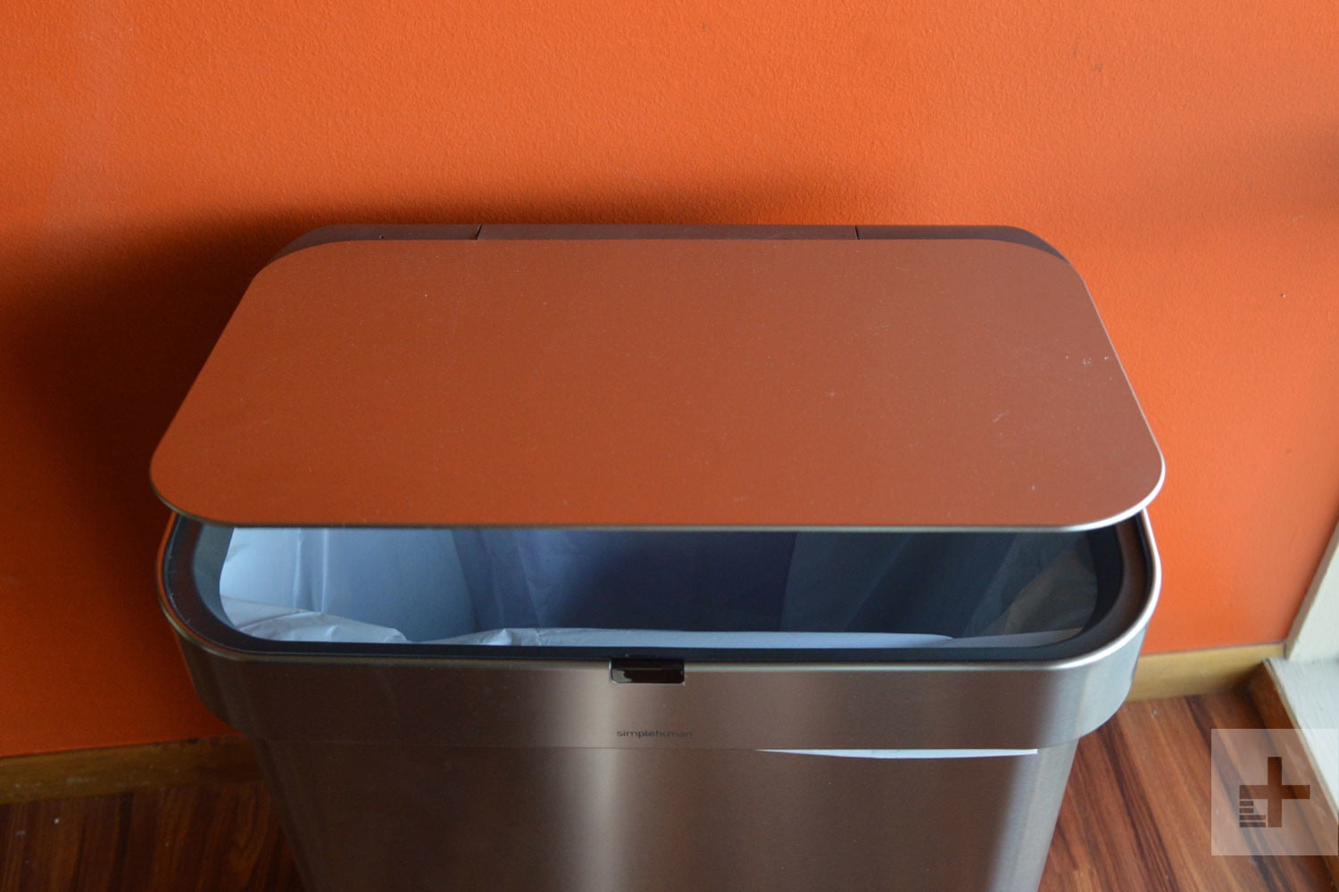 Rose Gold Trash Can Simplehuman Voice Activated Sensor Trash Can Review