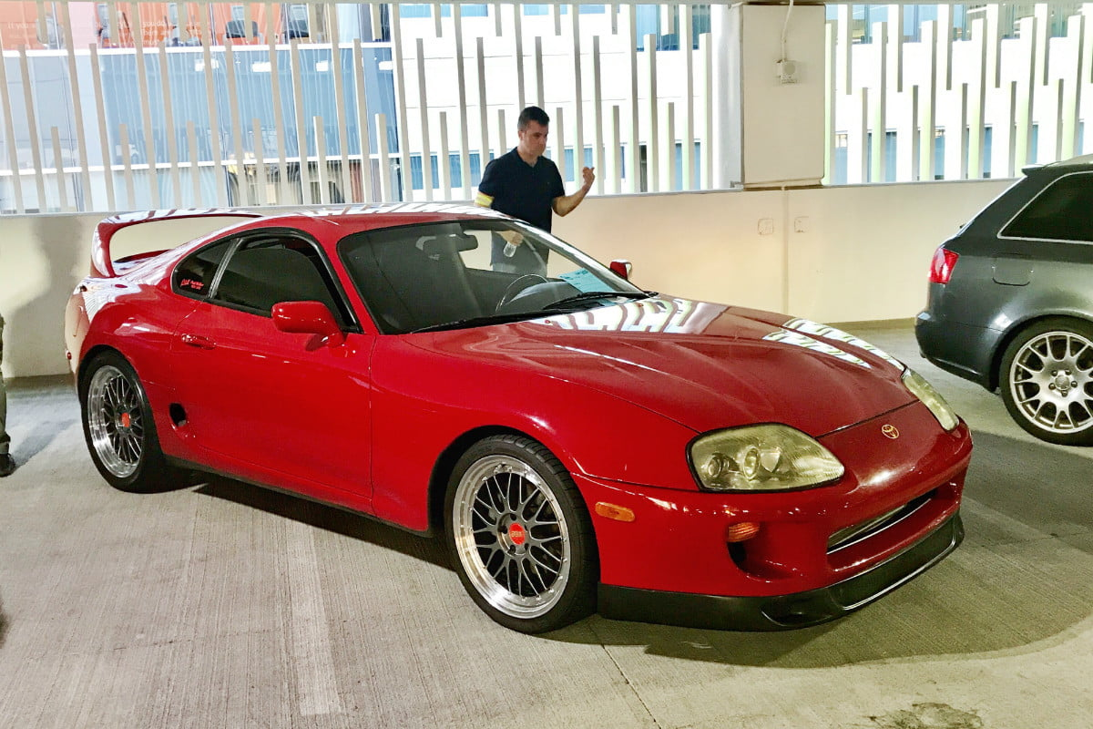Toyota Supra From The Fast And The Furious Fast And Furious Association Boosts Japanese Performance Car