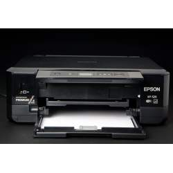 Small Crop Of Epson Printer Not Printing Black
